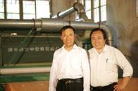 CCTV7《农广天地》 之棉花被加工技术专访濮丰