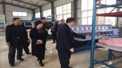 濮阳市总工会郭主席等领导莅临公司视察指导工作